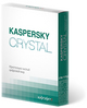 Kaspersky CRYSTAL (коробочная версия)