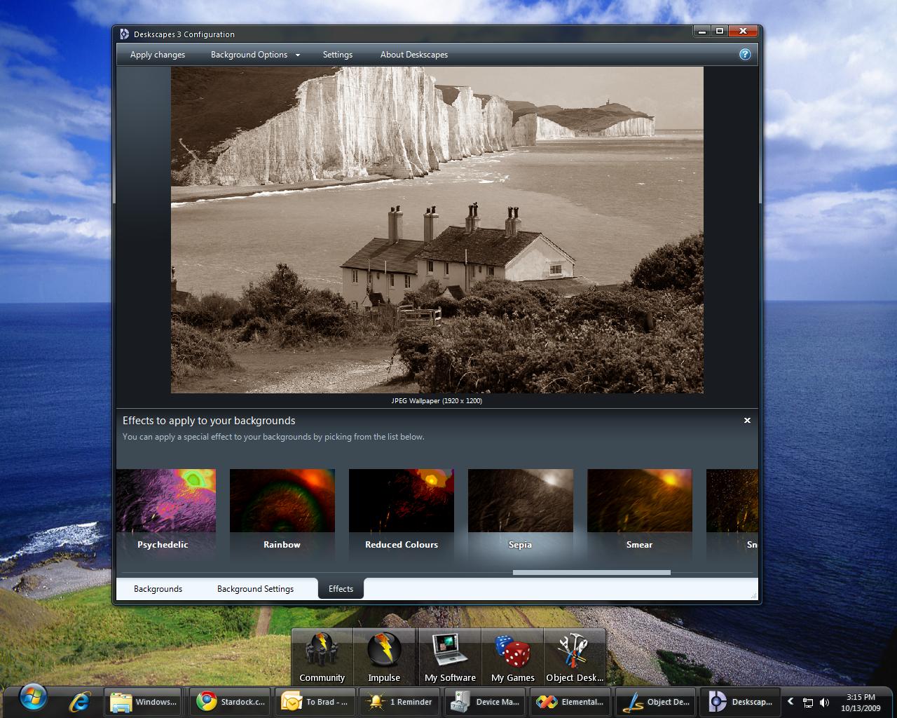 deskscapes 8 крякнутая версия