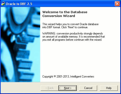 Скриншот программы (версии софта) Oracle Migration Toolkit 5.1 #1