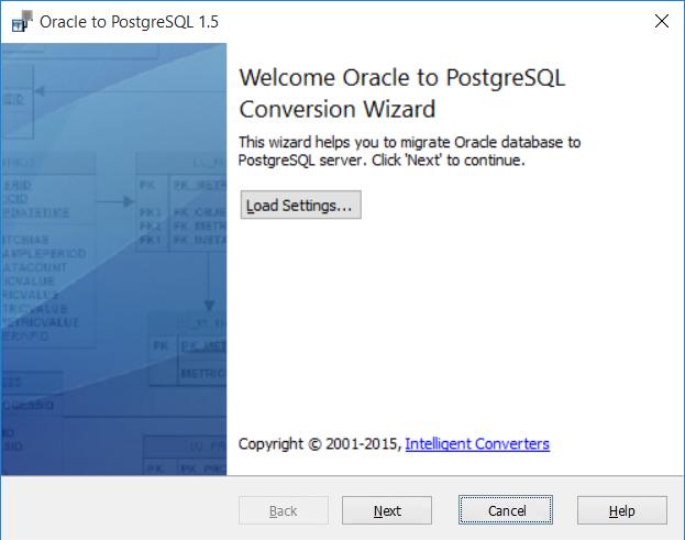 Скриншот программы (версии софта) Oracle-to-Postgres 3.3 #1