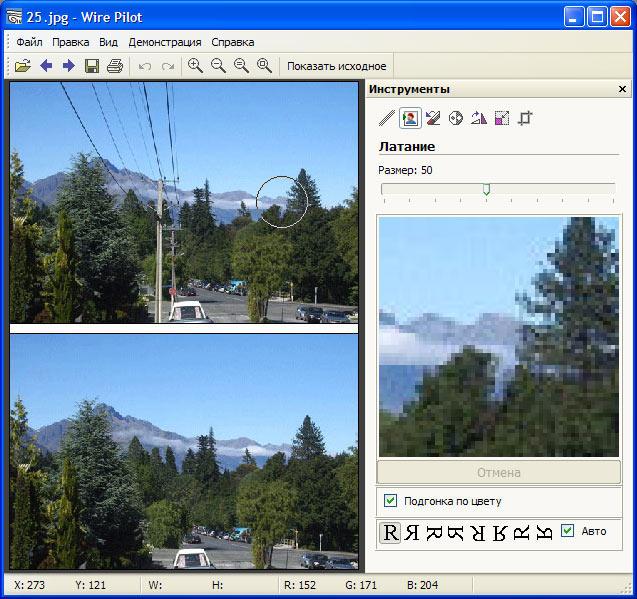 Скриншот программы (версии софта) Wire Pilot 3.9.0 #1