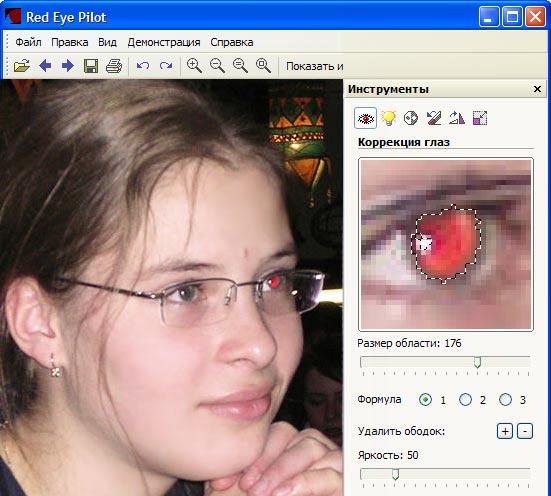 Скриншот программы (версии софта) Red Eye Pilot 3.10.0 #1