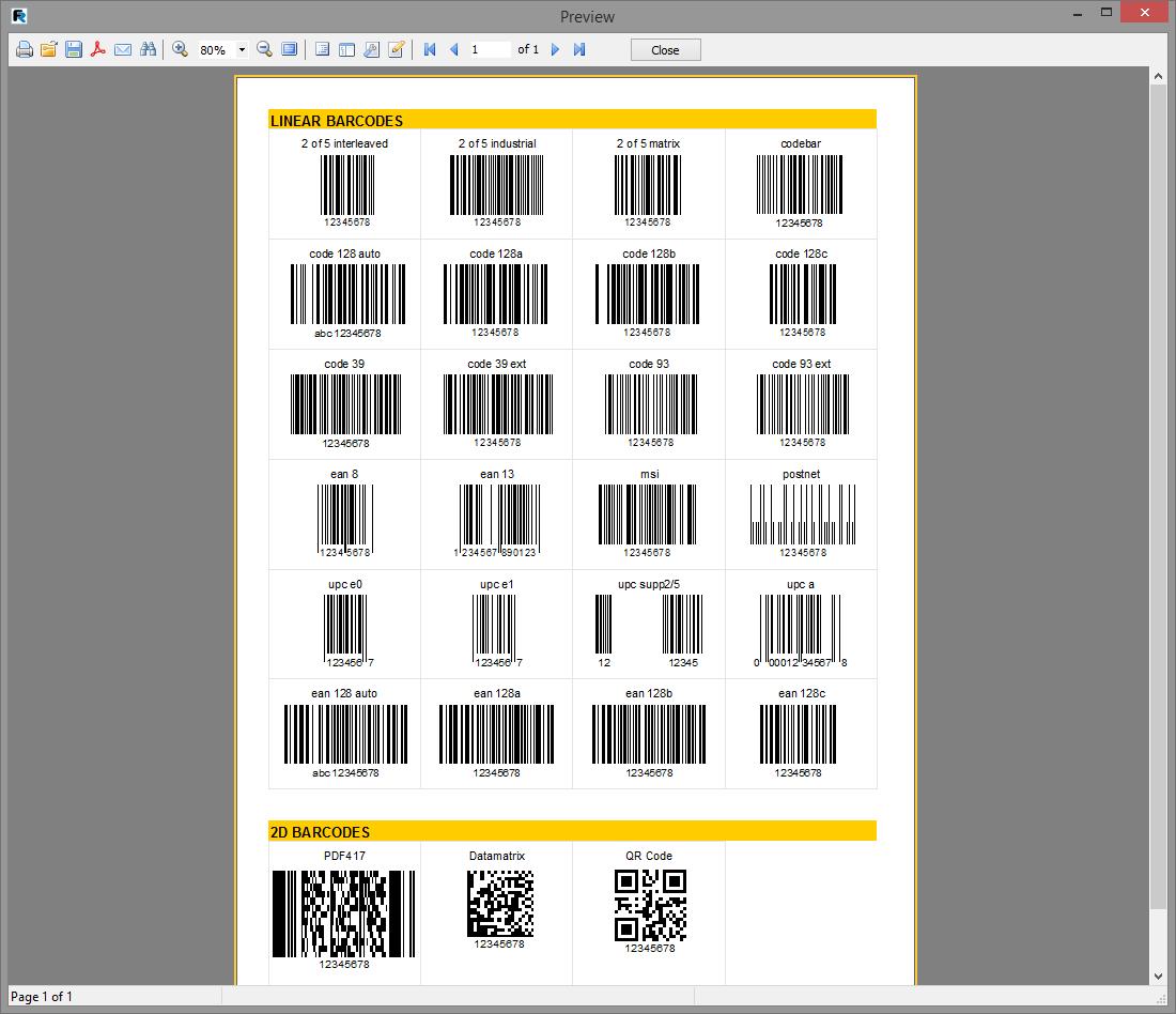 Скриншот программы (версии софта) FastReport VCL 6.1 Standart Edition #7
