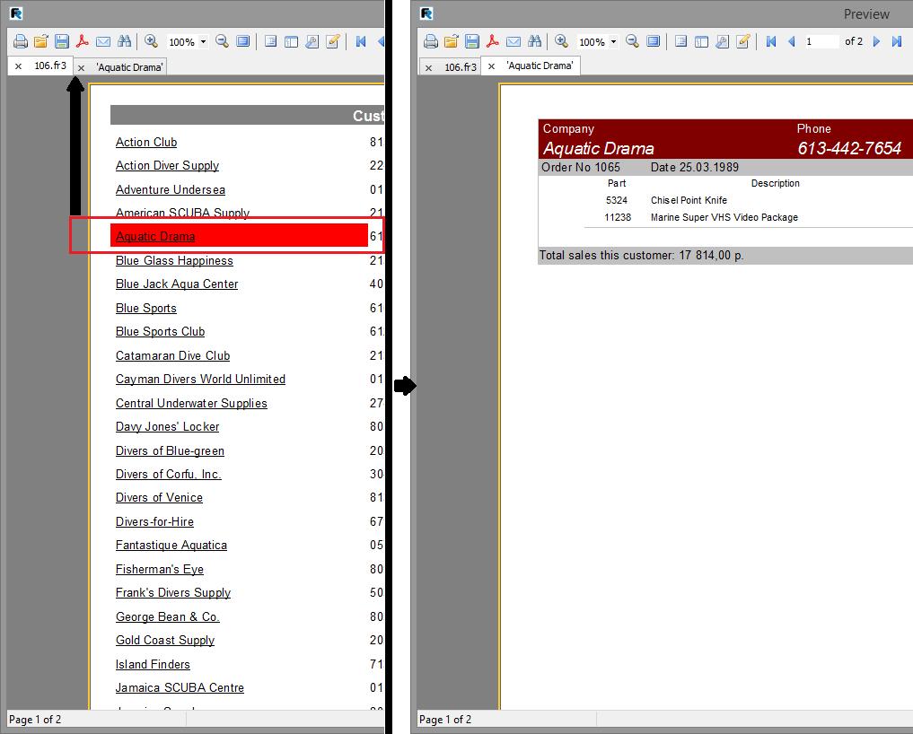 Скриншот программы (версии софта) FastReport VCL 6.1 Standart Edition #4
