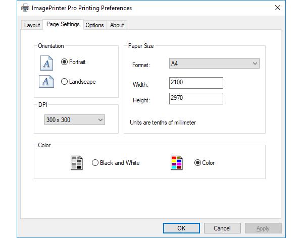 Скриншот программы (версии софта) ImagePrinter Pro 6.3 Лицензия для сервера #1