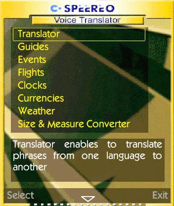 Speereo Voice Translator Multilanguage