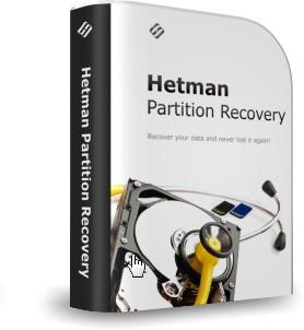 Hetman Partition Recovery (восстановление разделов) Домашняя версия