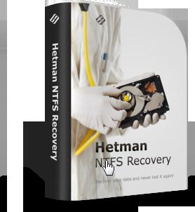 Hetman NTFS Recovery (восстановление системного диска) Домашняя версия