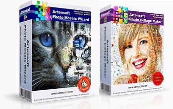 Пакет программ Artensoft Photo Mosaic Wizard + Artensoft Photo Collage Maker НЕ РЕДАКТИРОВАТЬ!!! (bundle-version)