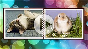 Шаблоны слайд-шоу Музыкальный фотоальбом