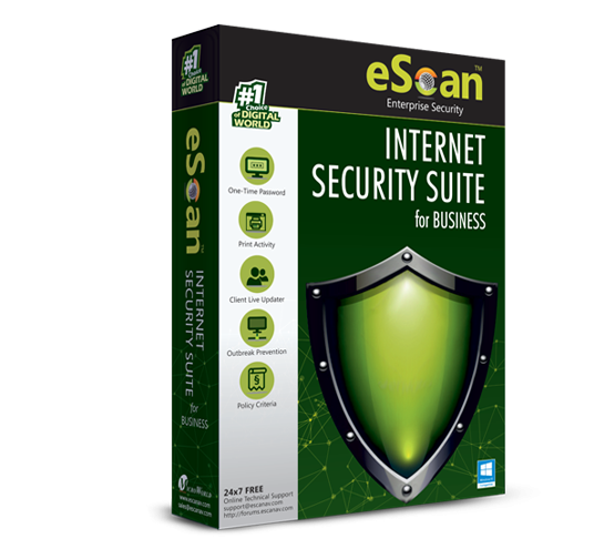 Антивирус eScan Internet Security Suite for Business