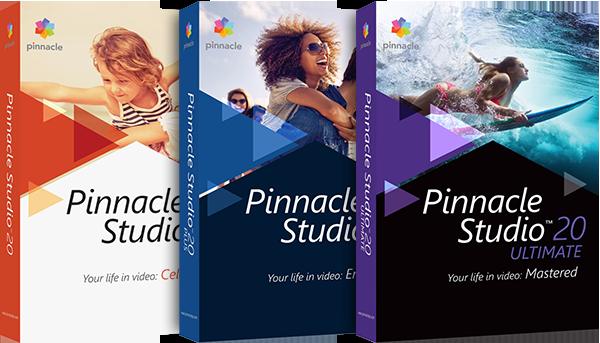 Pinnacle Studio 20 Standard (электронная версия) от Allsoft