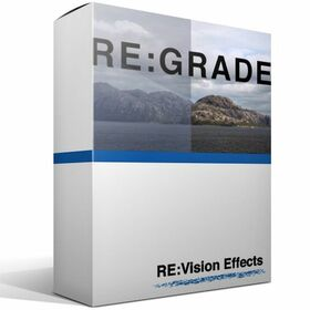 RE:Vision Effects RE:Grade v1 GUI.