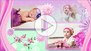 Шаблоны слайд-шоу Наша маленькая принцесса