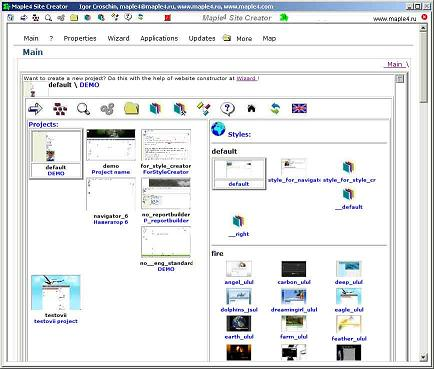 Maple4 Site Creator 6.5.4