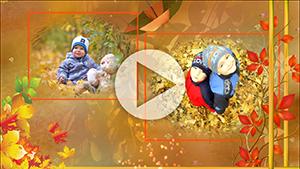 Шаблоны для слайд-шоу Золотая осень
