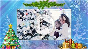 Новогоднее слайд-шоу  2017