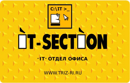 IT-SECTION Управление IT-специалистами и программистами 2011.2.7