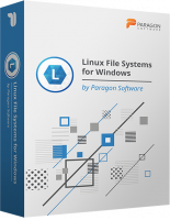 Linux File System for Windows by Paragon Software