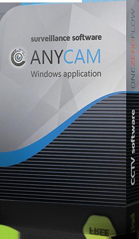 Anycam  видеонаблюдение на ПК 2.8.0