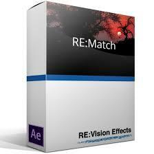RE:Vision Effects RE:Match v2 Render.