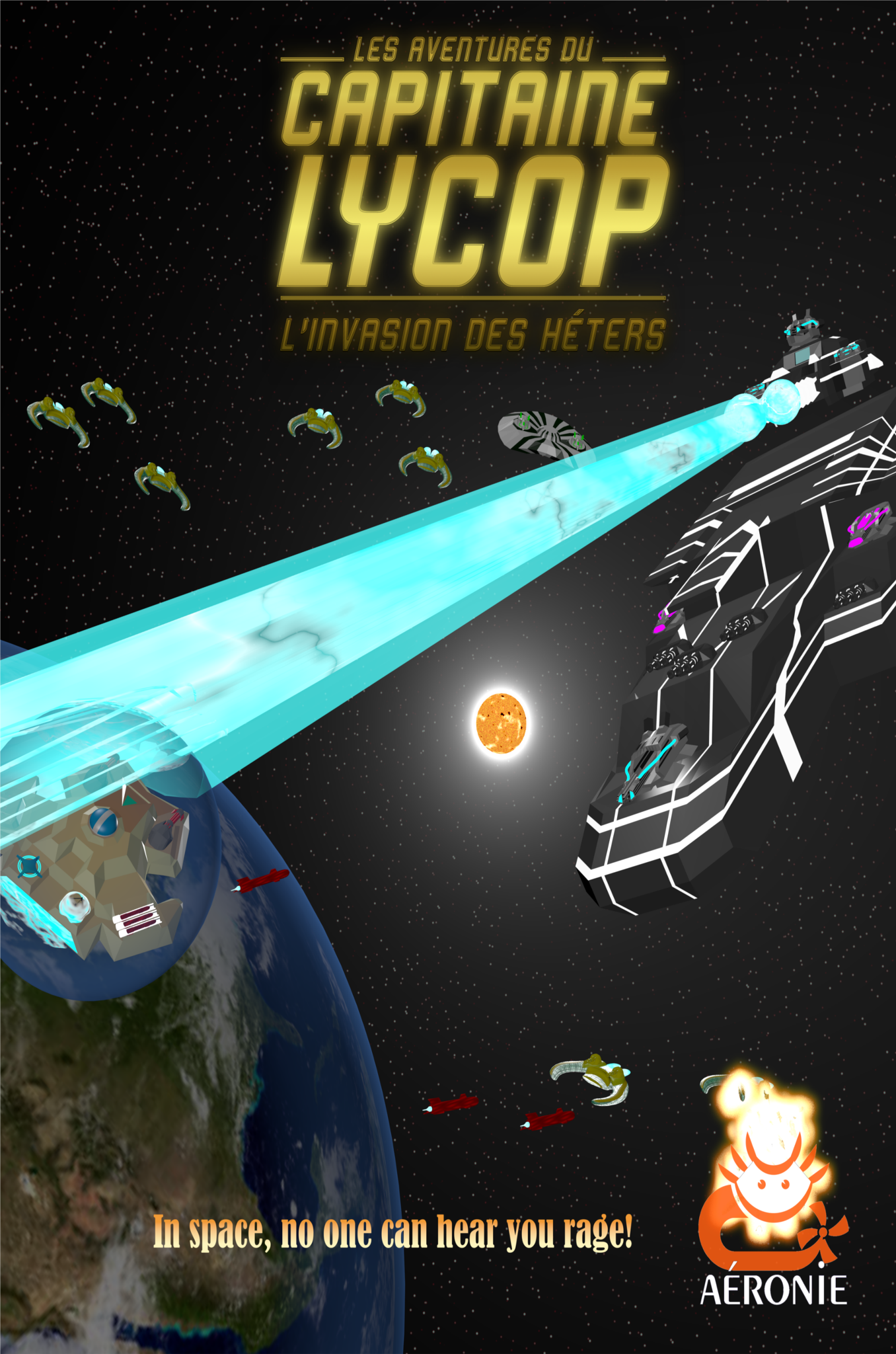 Captain Lycop: Invasion of the Heters.
