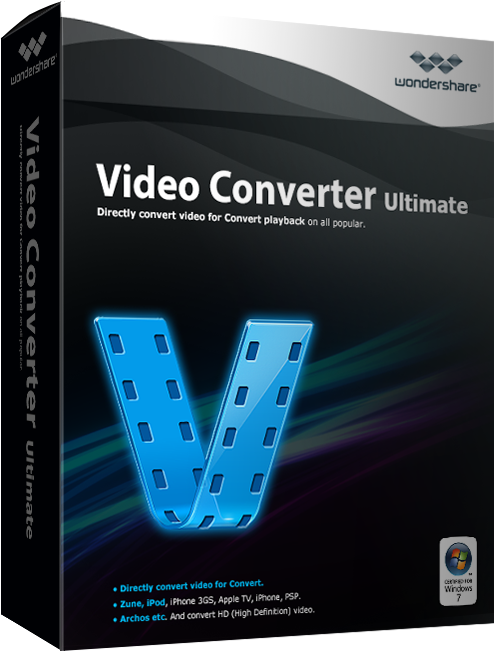 Wondershare Video Converter Ultimate для Windows