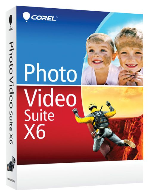 Corel Photo Video Suite X6 English (электронная версия)