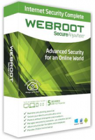 Webroot SecureAnywhere AntiVirus for PCs and Macs