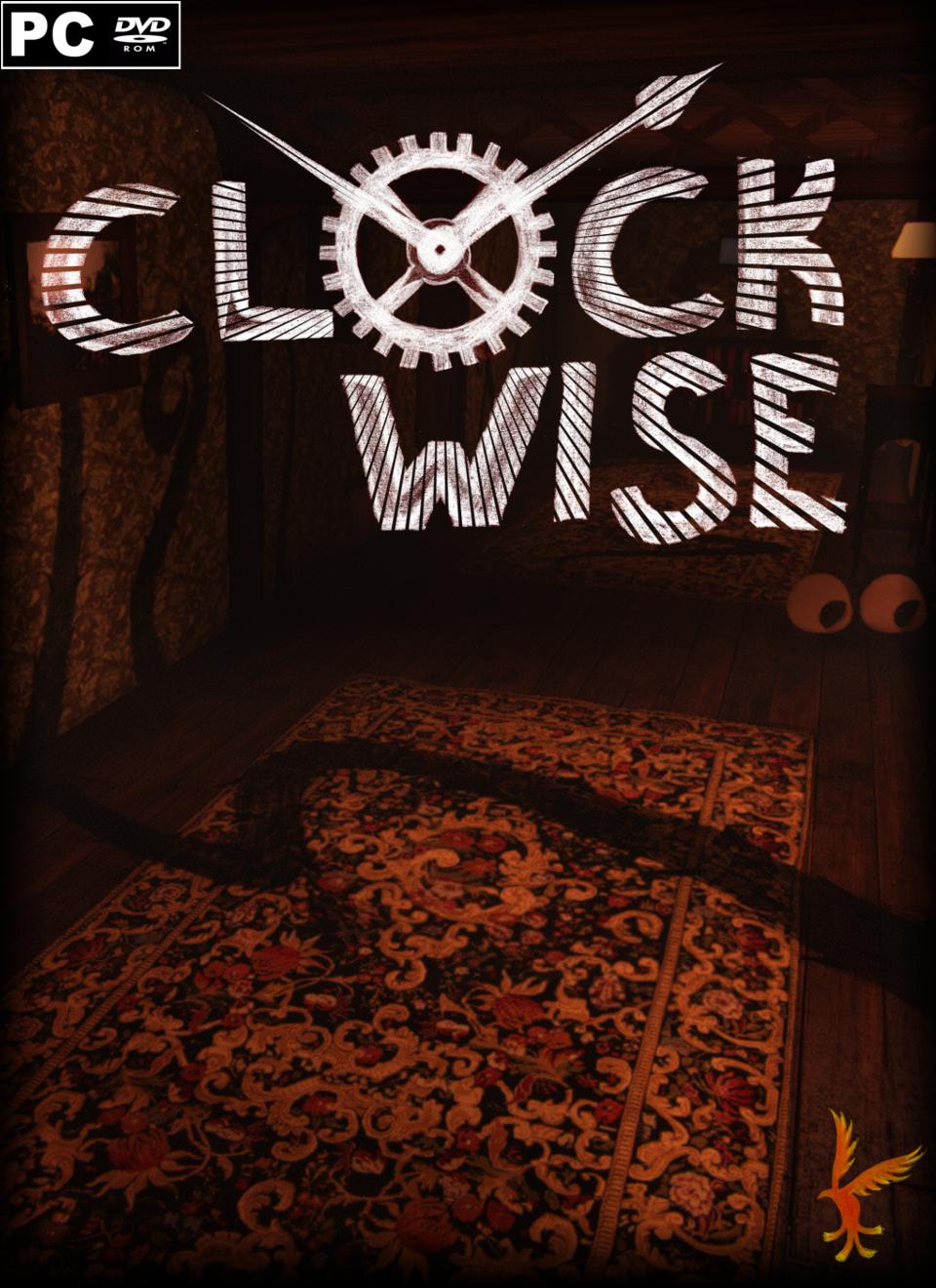 Clockwise.