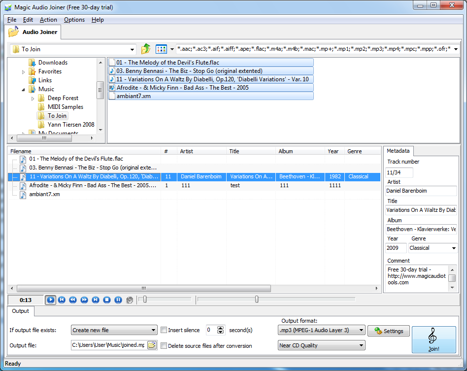 Magic Audio Joiner 2.2.6 от Allsoft