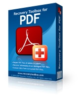 Recovery ToolBox for PDF Home