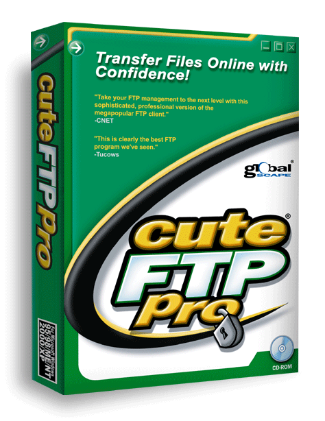 GlobalScape CuteFTP 9 Professional от Allsoft