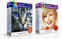 Пакет программ Artensoft Photo Mosaic Wizard + Artensoft Photo Collage Maker. Купить в allsoft.ru