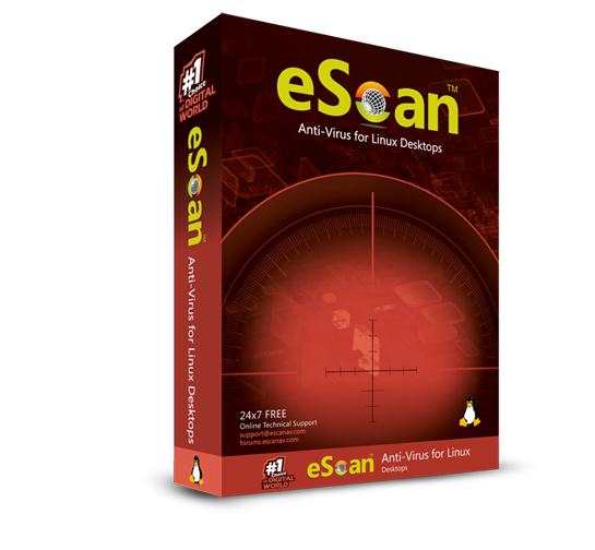 Антивирус eScan for Linux Desktop