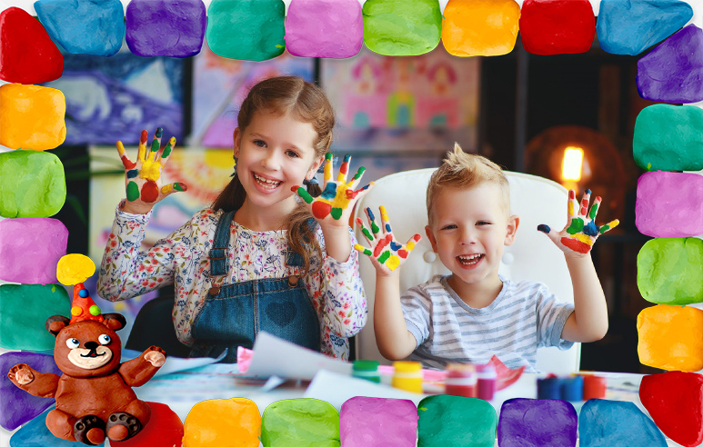 Рамки для фото Детское творчество 100 готовых рамок для фотографий