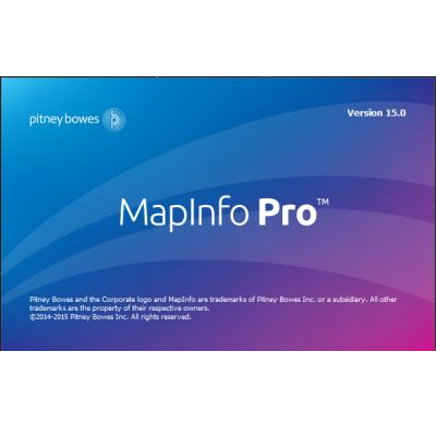 ГИС MapInfo Professional 2019 Russian