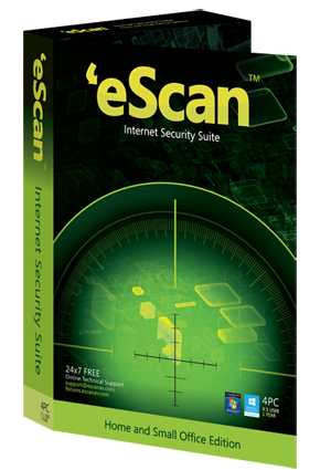 Антивирус eScan Internet Security Suite with Cloud Security 14