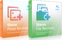 Starus Photo Recovery + Starus File Recovery