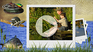 Шаблоны слайд-шоу о рыбалке