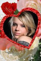 Шаблоны открыток ко дню Святого Валентина