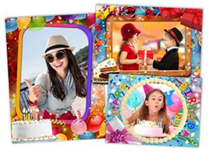 Рамки для фотографий на день рождения День рождения