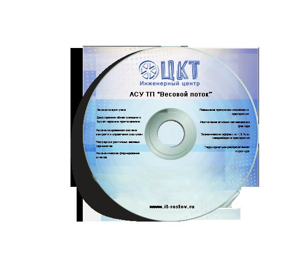 АСУ ТП ВЕСОВОЙ ПОТОК. L Автоматика + RFID активное + IP видео 1.0