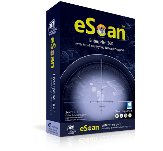 Антивирус eScan Enterprise 360 (with MDM & Hybrid Network Support)