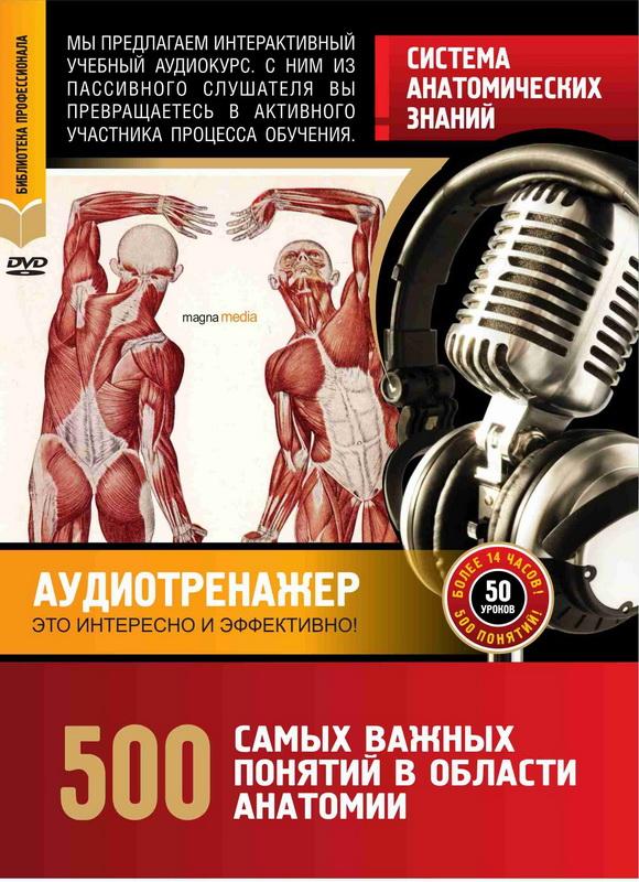 Система анатомических знаний. 500 самых важных понятий