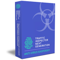 Traffic Inspector Next Generation Anti-Virus powered by Kaspersky
