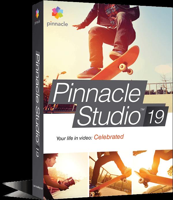 Pinnacle Studio 21 Standard (коробочная версия)