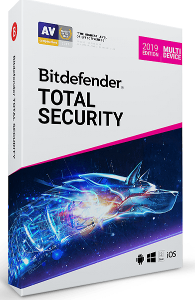 Антивирус Bitdefender Total Security 2021