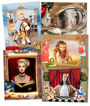 Сказочные рамки для фотографий 100 готовых рамок