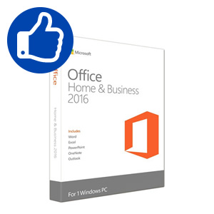 Microsoft Office Home and Business 2016 Russian (box)